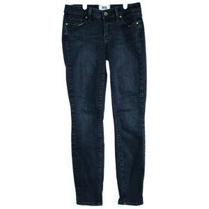 Paige Womens Verdugo Ankle Skinny Blue Jeans 25